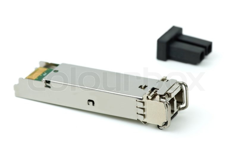 Network Switch Gigabit on Stock Image Of  Optical Gigabit Sfp Module For Network Switch