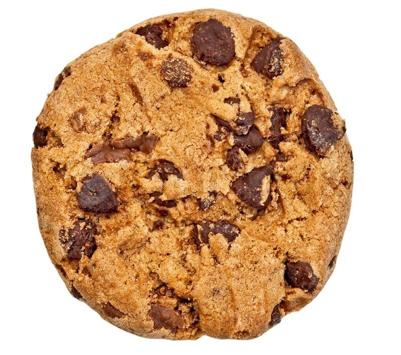 Chocolate Chip Cookie Stock Photo Colourbox