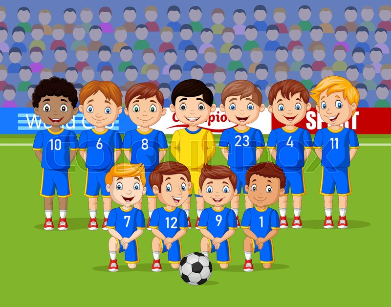 Download Soccer Football Player Cartoon Images Background