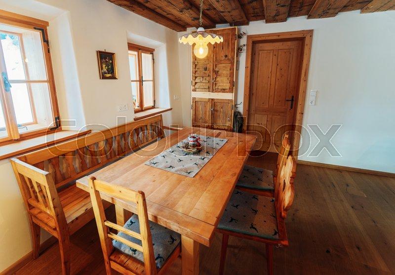 Modern design of Home Kitchen Interior ...
