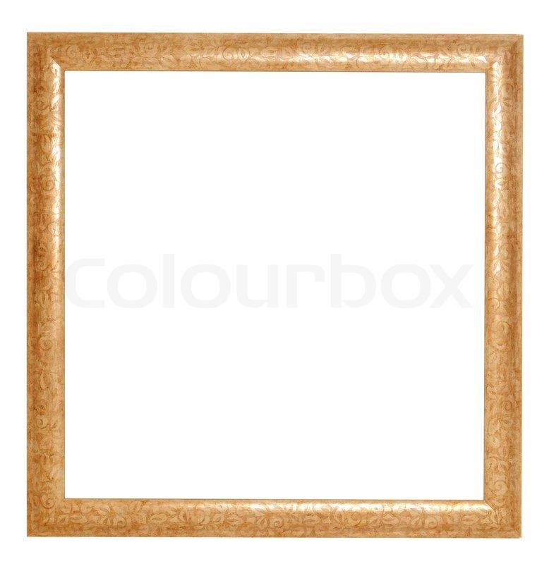 Goldener Rahmen   Stockfoto   Colourbox