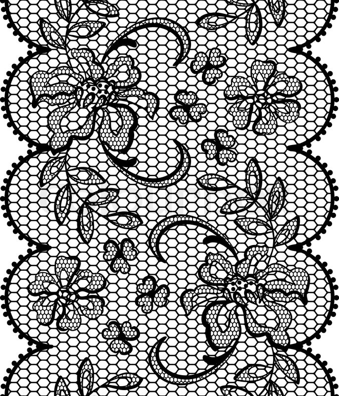 Stock Vector of 'old Lace