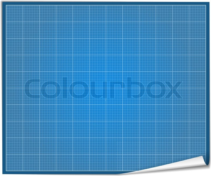 Blank blueprint paper stock vector colourbox malvernweather Gallery