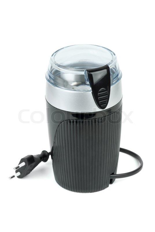 Electric Coffee Grinders ~ Electric coffee grinder stock photo colourbox