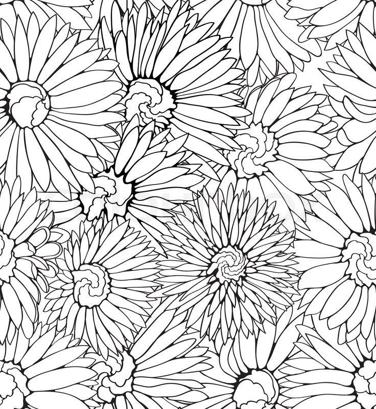 Black-and-White-Flower-Pattern-Birthday-40th-Birthday-Pre-Printed