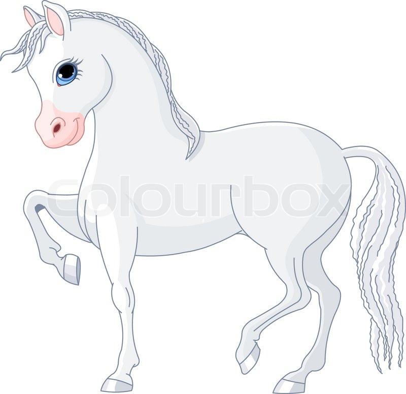 heste tegninger letter