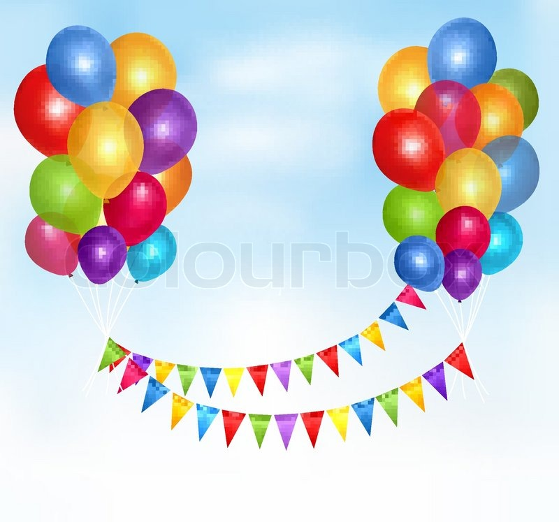 Birthday Frames And Borders Birthday Balloons Frame