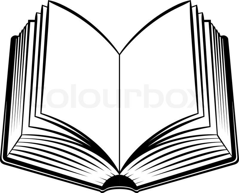 Open Book Clip Art Color Clipart Collection: Stock Vector