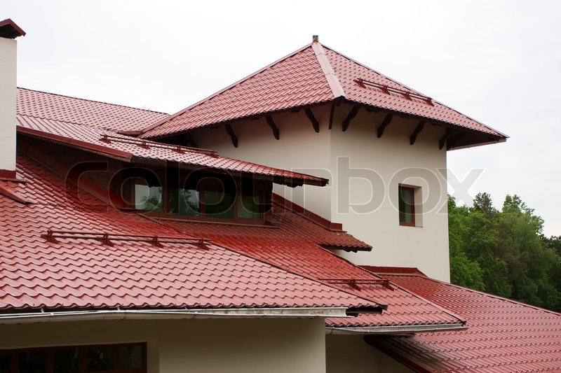 Roof Of The House Stock Photo Colourbox
