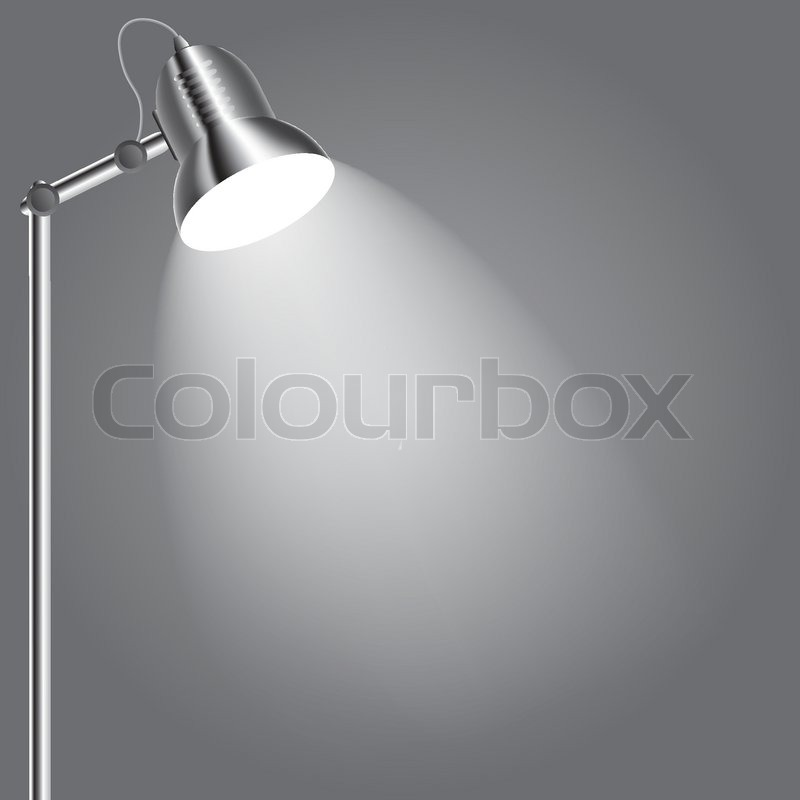 Lamp Background Background With Lighting Lamp