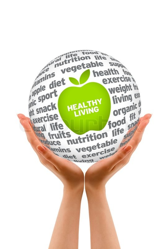Healthy Lifestyle Sphere | Stock image | Colourbox