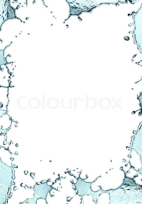 Water Frame Stock Photo Colourbox