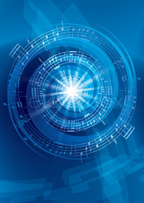 u0026quot blue abstract music background