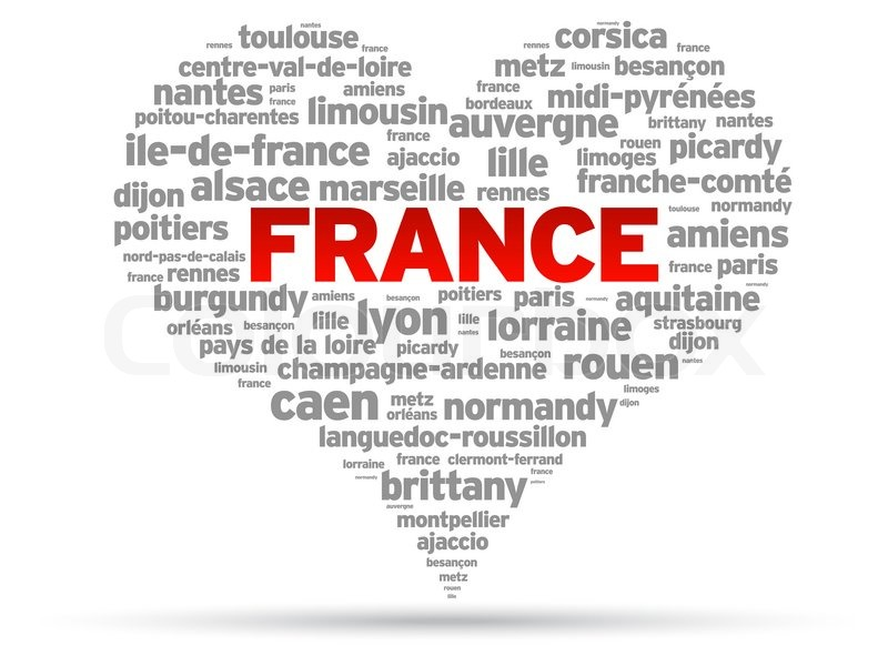 how to say i love france in french