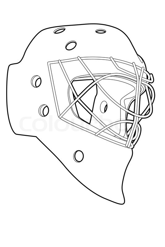 Hockey mask stock vector colourbox hockey mask vector maxwellsz