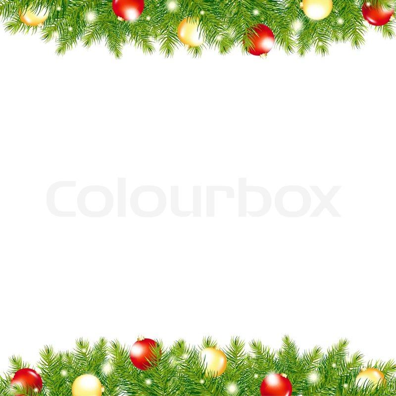 xmas and happy new year border stock photo colourbox