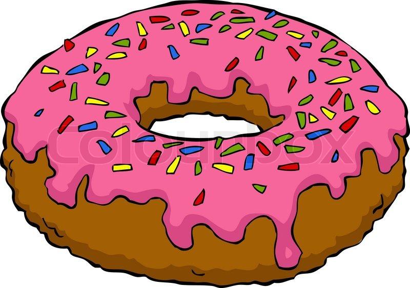 Cute Donuts Cartoon Cartoon Donut