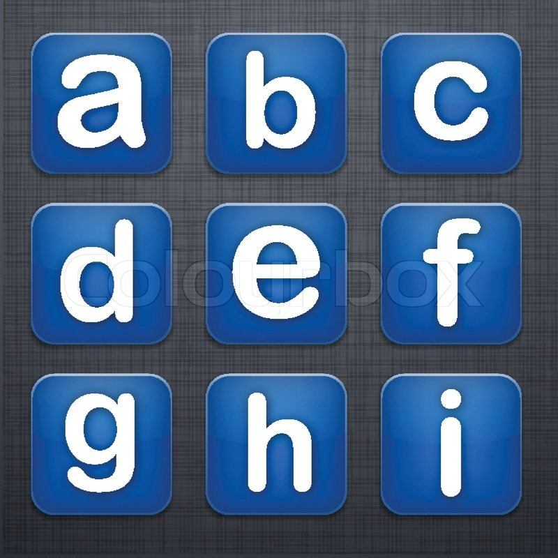 App Icons Letters Square Letter Modern App Icons