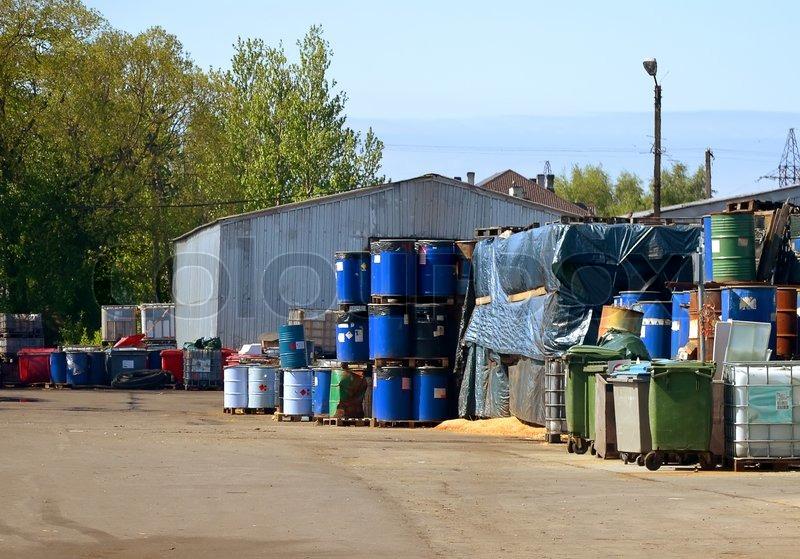 Toxic Waste Barrel