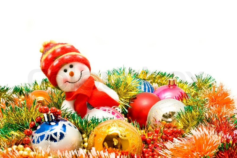 Weihnachten kommt lustige schneemann und dekoration for Dekoration schneemann