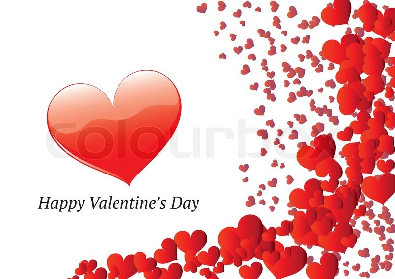 valentines day greeting card stock vector colourbox - Valentines Greeting