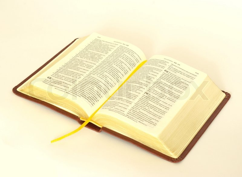 opened bible stock photo colourbox