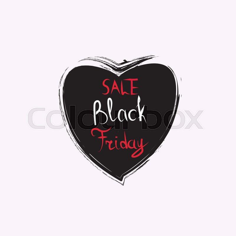 Black Friday Sticker Discount Badge Stock Vector Colourbox