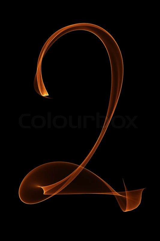 fire number 2 stock photo colourbox