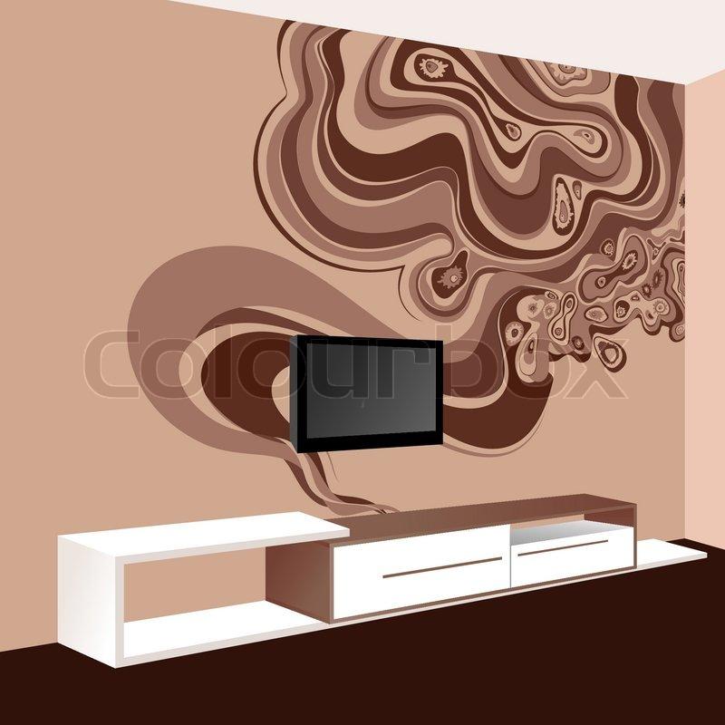 Wall Decoration Ideas. Art Wall Interior.