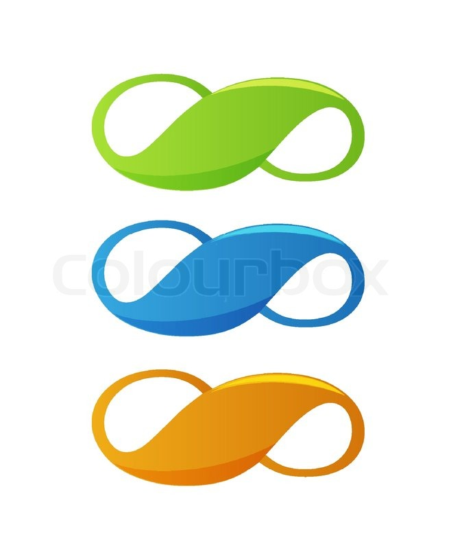 Infinity Symbol Stock Vector Colourbox