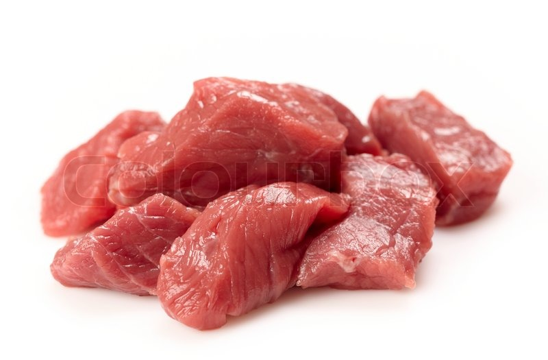 Fresh raw meat | Stock Photo | Colourbox
