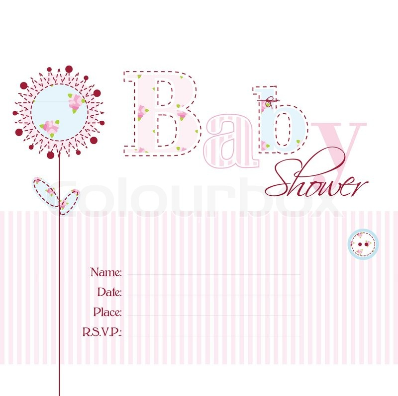 Baby shower invitation stock vector colourbox filmwisefo