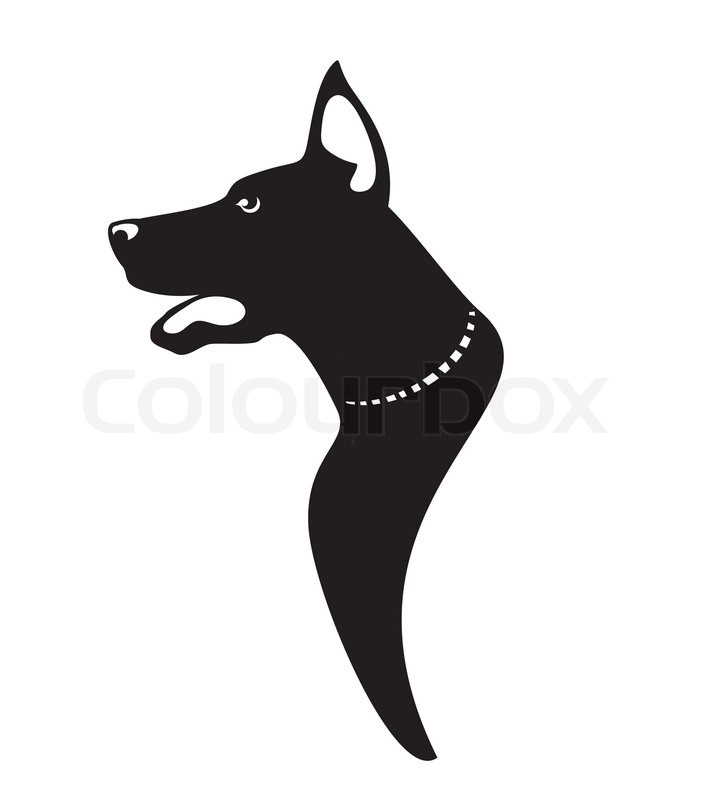 Stock vector of 'Dog profile vector icon'