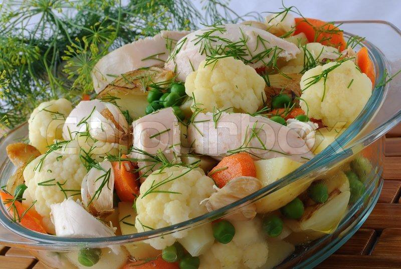 Вареные овощи и рецептами