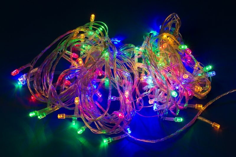 Clear Wire Christmas Lights