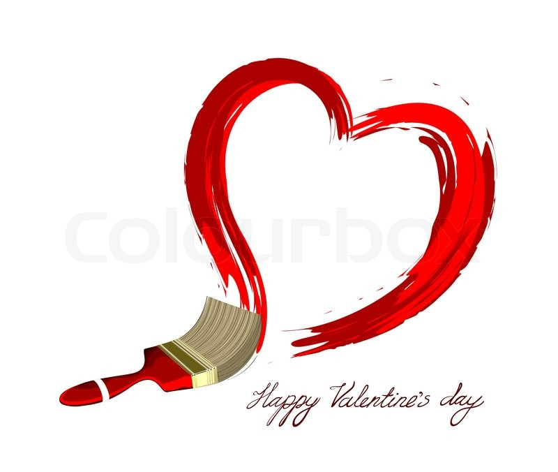 Creative Heart Vector Illustration Love Design Stock