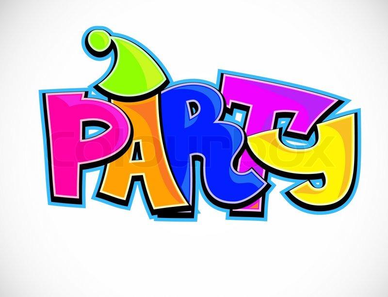 party, spritzwasser, feiern | vektorgrafik | colourbox, Einladung