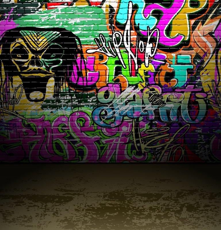 Graffiti Wall Urban Street Art Painting
