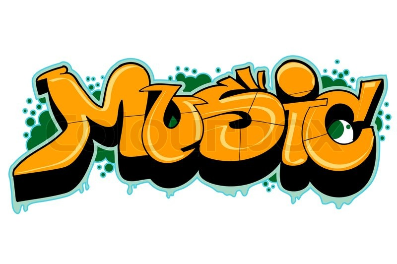 graffiti urban art stock vector colourbox. Black Bedroom Furniture Sets. Home Design Ideas