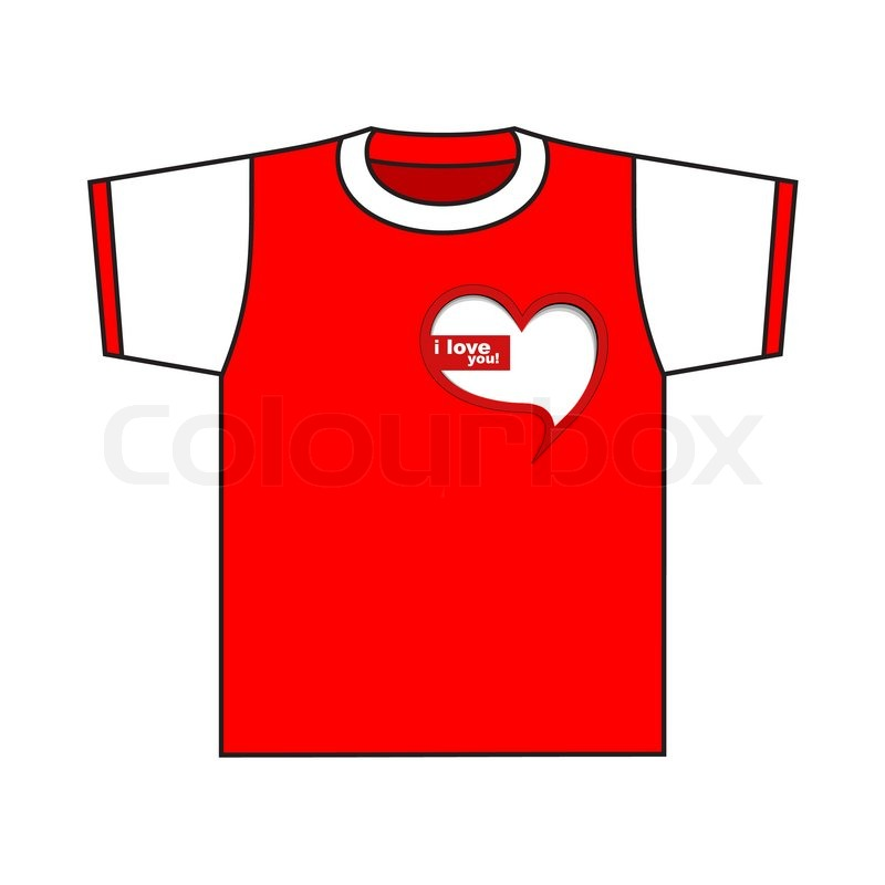 T Shirt Design Valentine S Day Design T Shirt Stock Vector