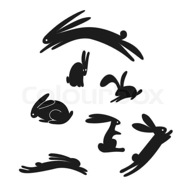 Rabbit | Stock Vector ...