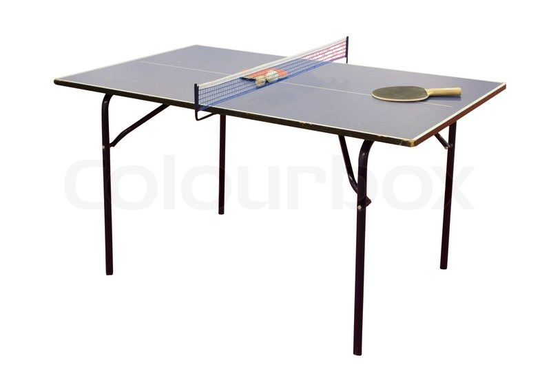 ping pong tisch stock foto colourbox. Black Bedroom Furniture Sets. Home Design Ideas