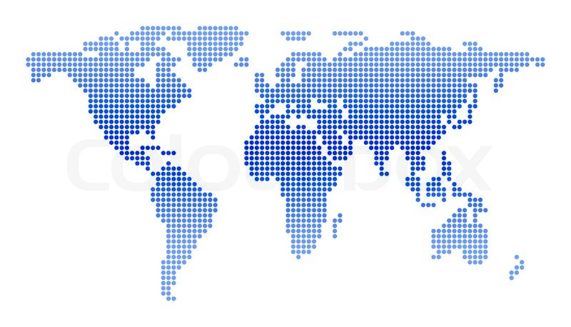 World map of circles stock photo colourbox gumiabroncs Images