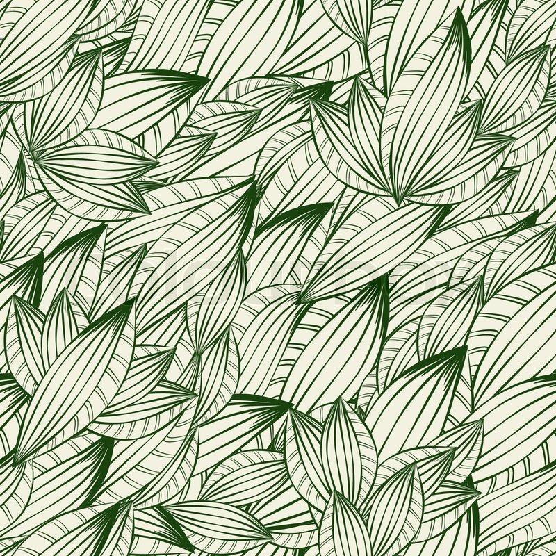 Fototapete Tropisches Schwarzweiss Muster 14