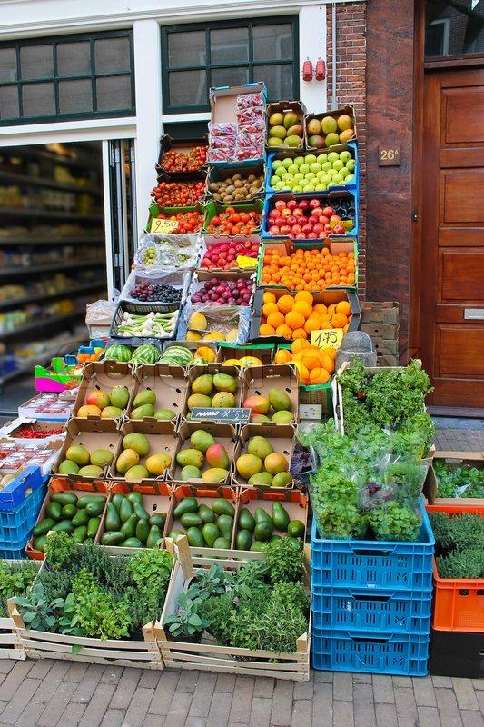 Gorinchem Netherlands  city photos : Vegetable shop in Gorinchem Netherlands stock photo