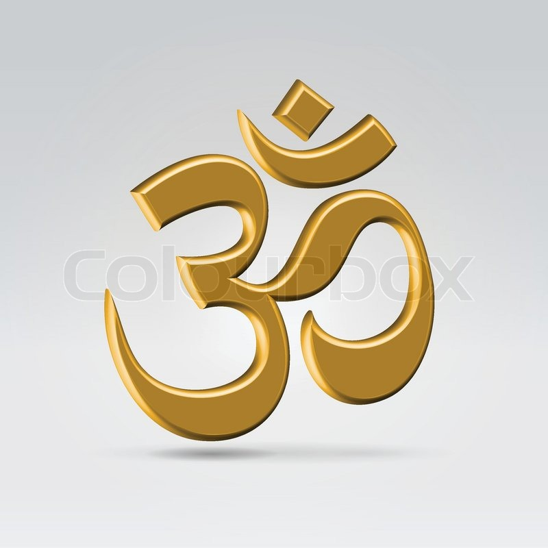 Tamil om Symbol Wallpaper Golden om Symbol Vector