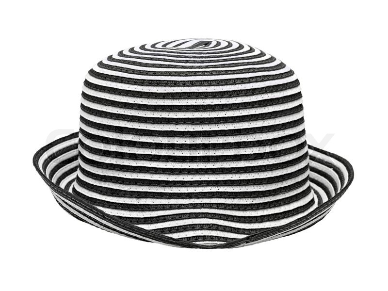 Black And White Stripes Background Black And White Striped Hat