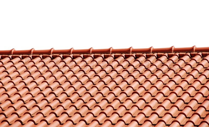 Roof Tiles, Stock Photo
