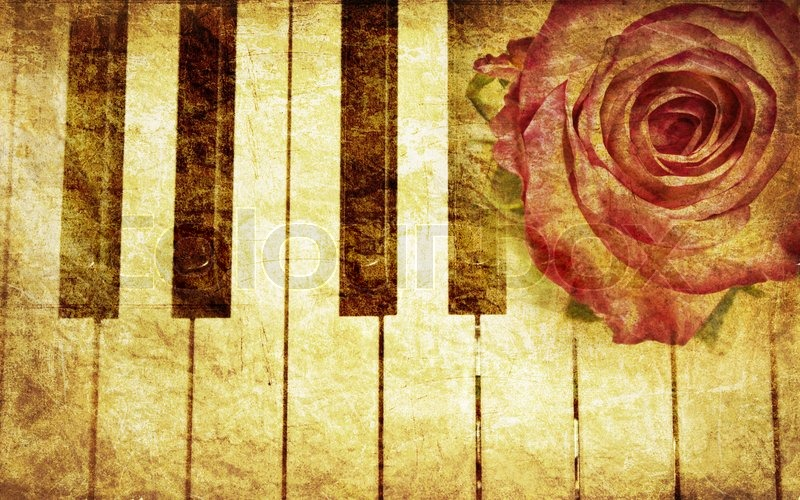 Letter A Wallpaper Music background with ...