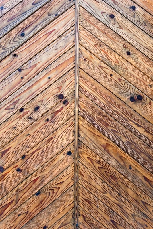 Natural wood texture  Brown wood texture with natural patterns | Stock Photo | Colourbox